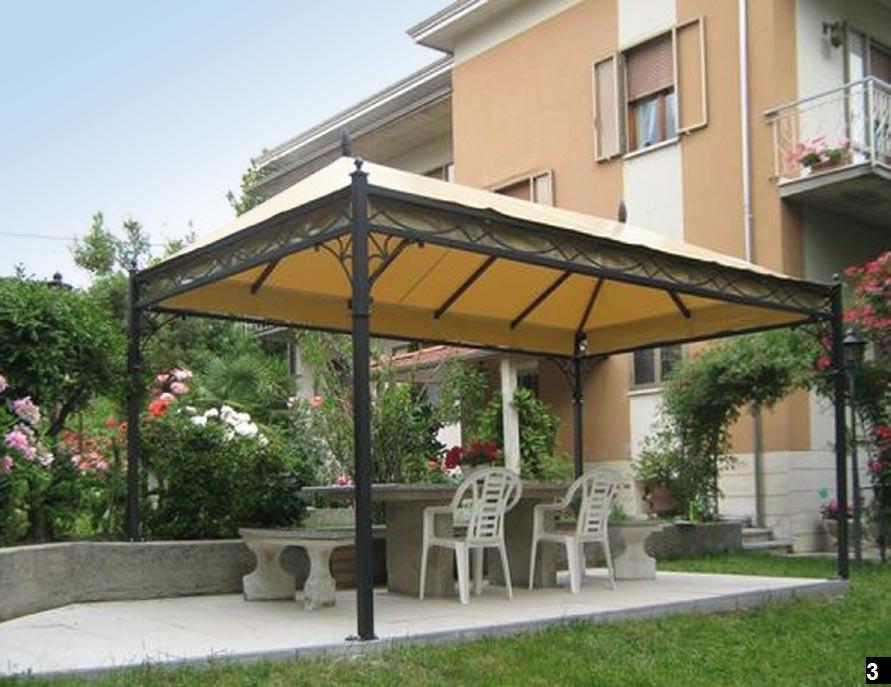 Secolare gazebi per giardino a modena e bologna arredo for Arredo giardino bologna