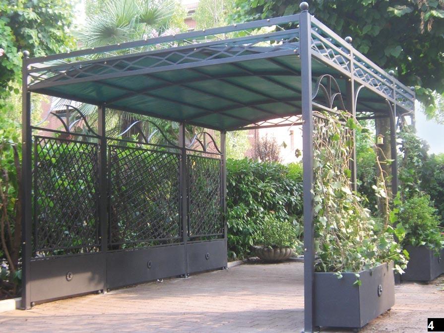 Pergole in ferro per rampicanti jf93 regardsdefemmes for Arredo giardino bologna