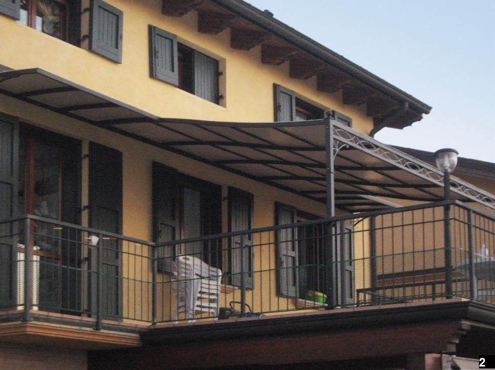 Pergole per balconi e terrazzi a modena e bologna arredo - Arredi per terrazzi ...