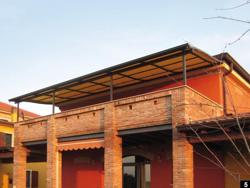 Pergole per balconi e terrazzi a modena e bologna arredo for Balconi e terrazzi